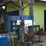 Book shop, Gili Air, Bali